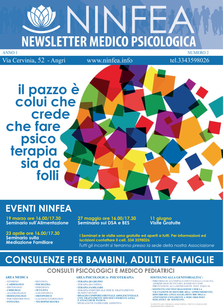 Newsletter Marzo-Aprile 2016